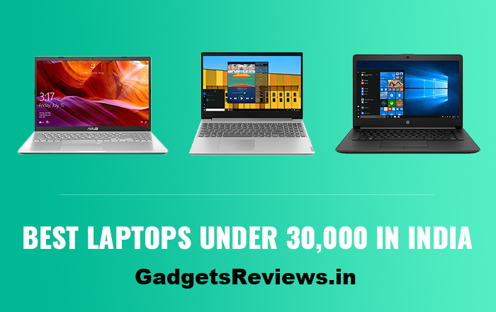 Best laptop under 30000 in india 2020