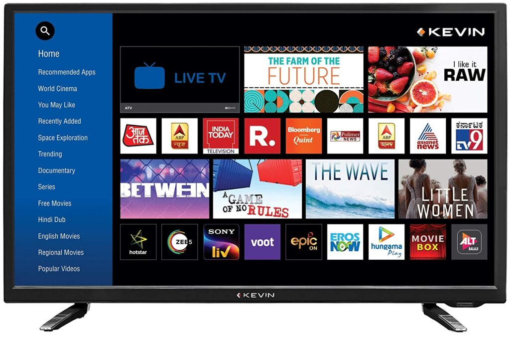Kevin 4k ultra; Smart LED TV