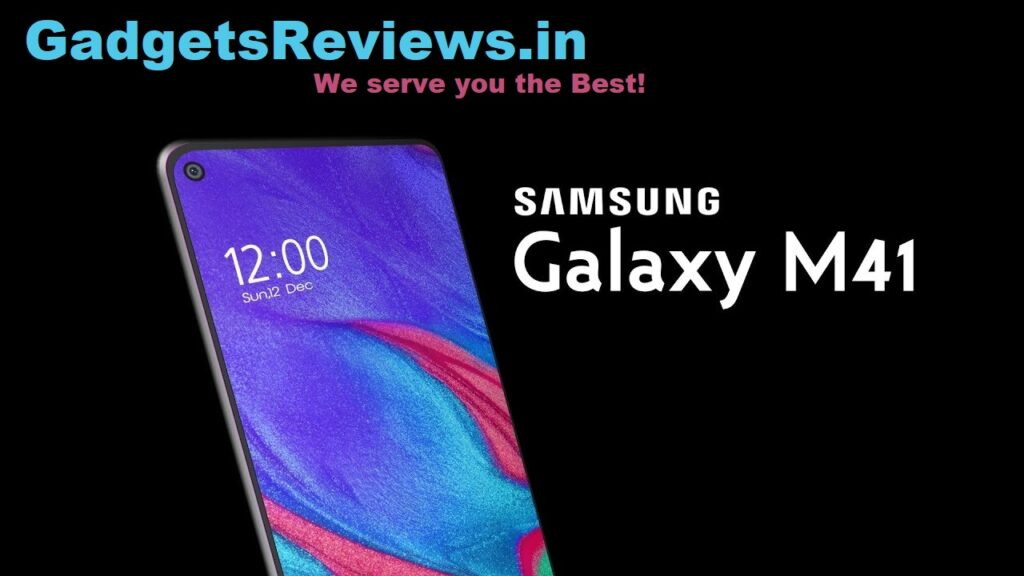 Samsung galaxy m41 5g, Samsung galaxy m41 5G mobile phone, Samsung galaxy m41 mobile phone price, Samsung galaxy m41 price in india, Samsung galaxy m41 specifications