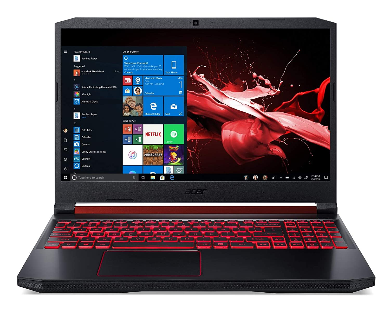 acer nitro 5 i5 9th gen gaming laptop