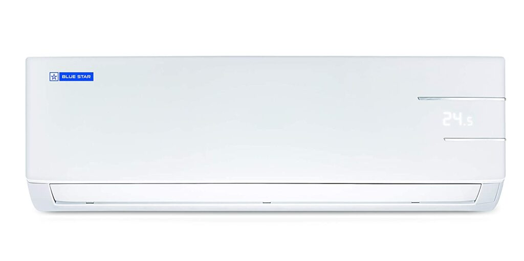 blue star 1 ton split ac, inverter split ac, ac under 3000, air conditioner, 1.5 ton