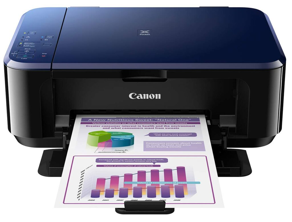 canon e560, printer, color printer, wireless color printer, hp printer