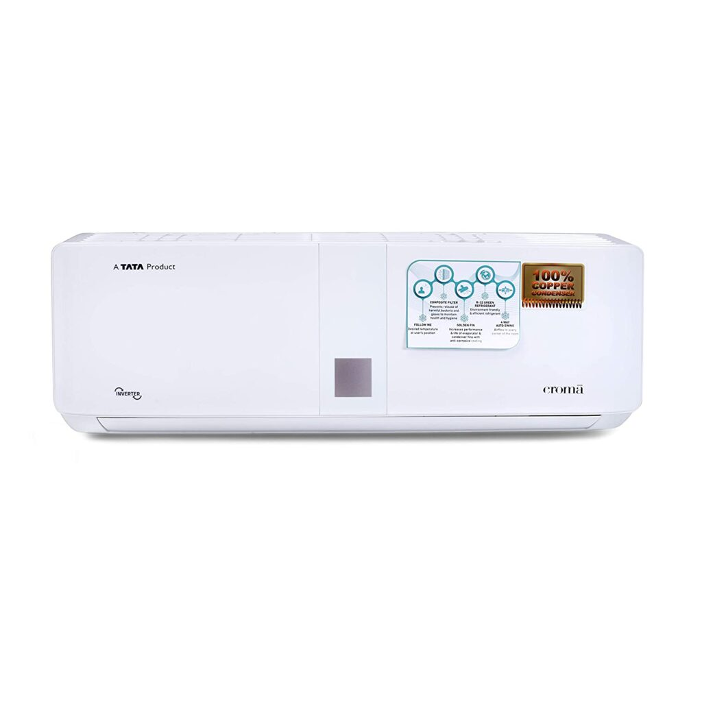 croma 1.5 ton split ac, inverter split ac, ac under 3000, air conditioner, 1.5 ton