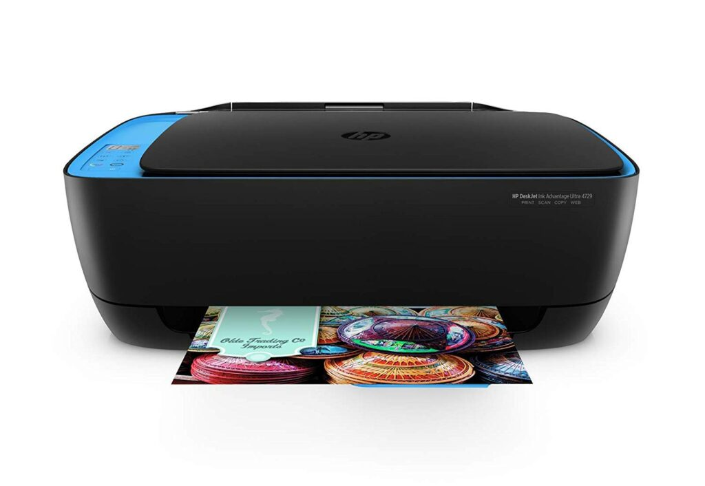 hp deskjet 4729, printer, color printer, wireless color printer, hp printer