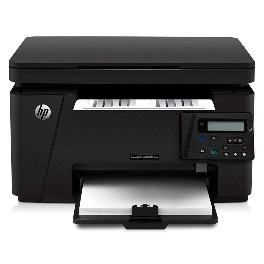 hp laserjet pro m126nw, printers, hp printer, laser, laserjet, ink tank