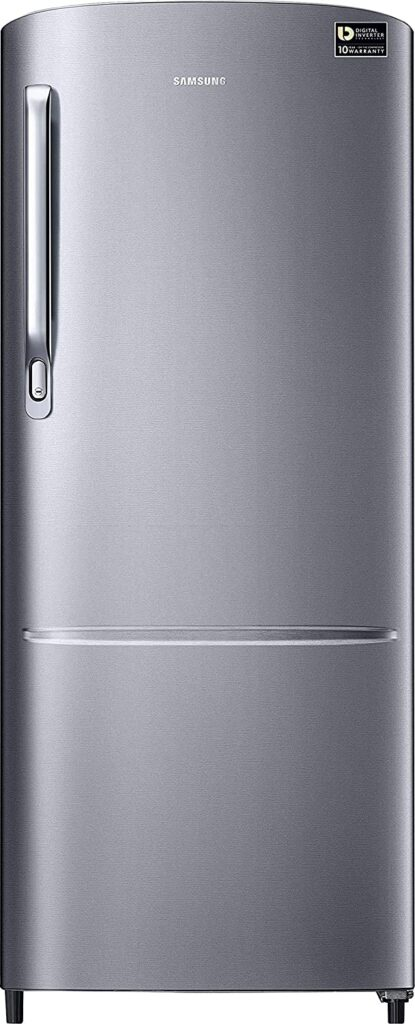 samsung 212L, single door fridge, fridge, refrigerator, fridge under 15000, single door refrigerator