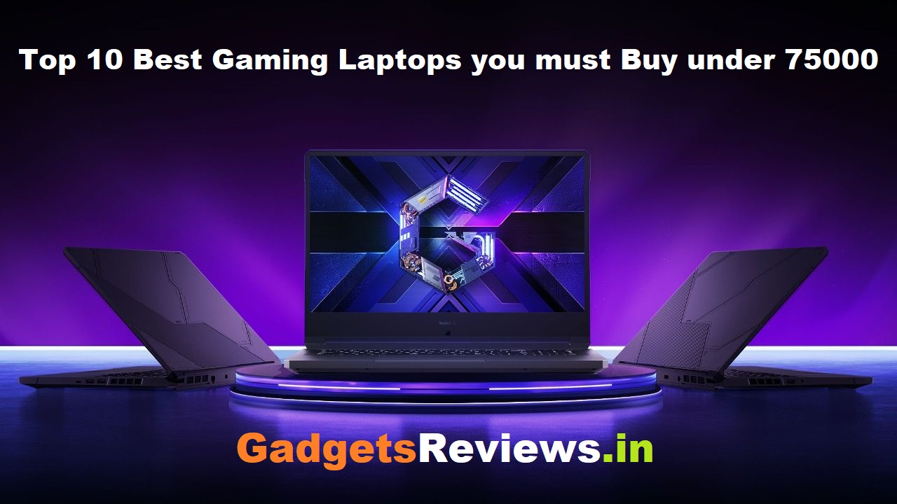 top 10 best gaming laptop under 75000