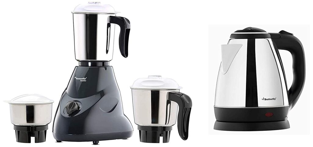 mixer grinder, mixer grinders, mixer grinder price, mixer grinder bajaj, best mixer grinder, kettle, butterfly mixer with kettle
