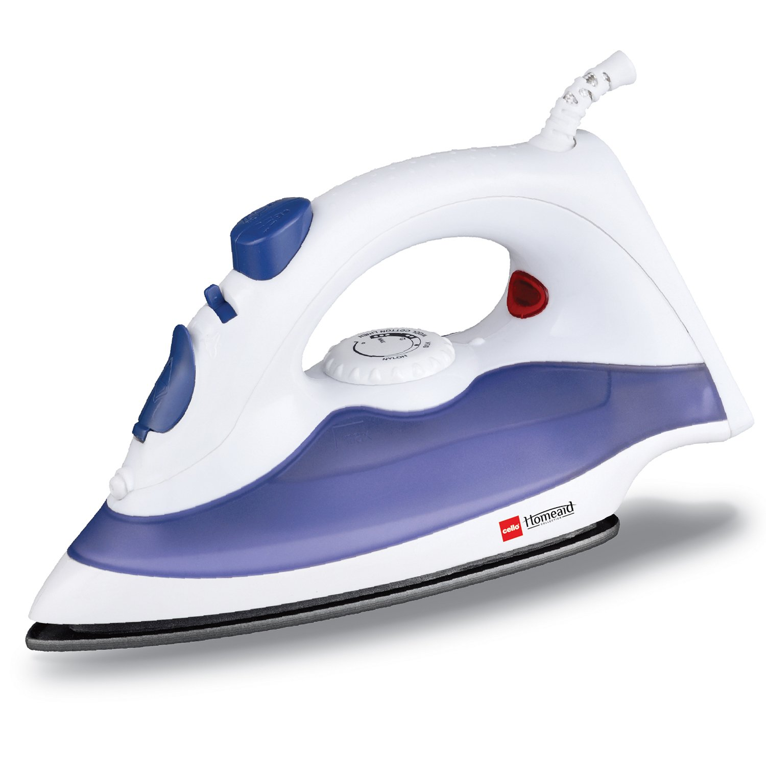 cello sty steam iron