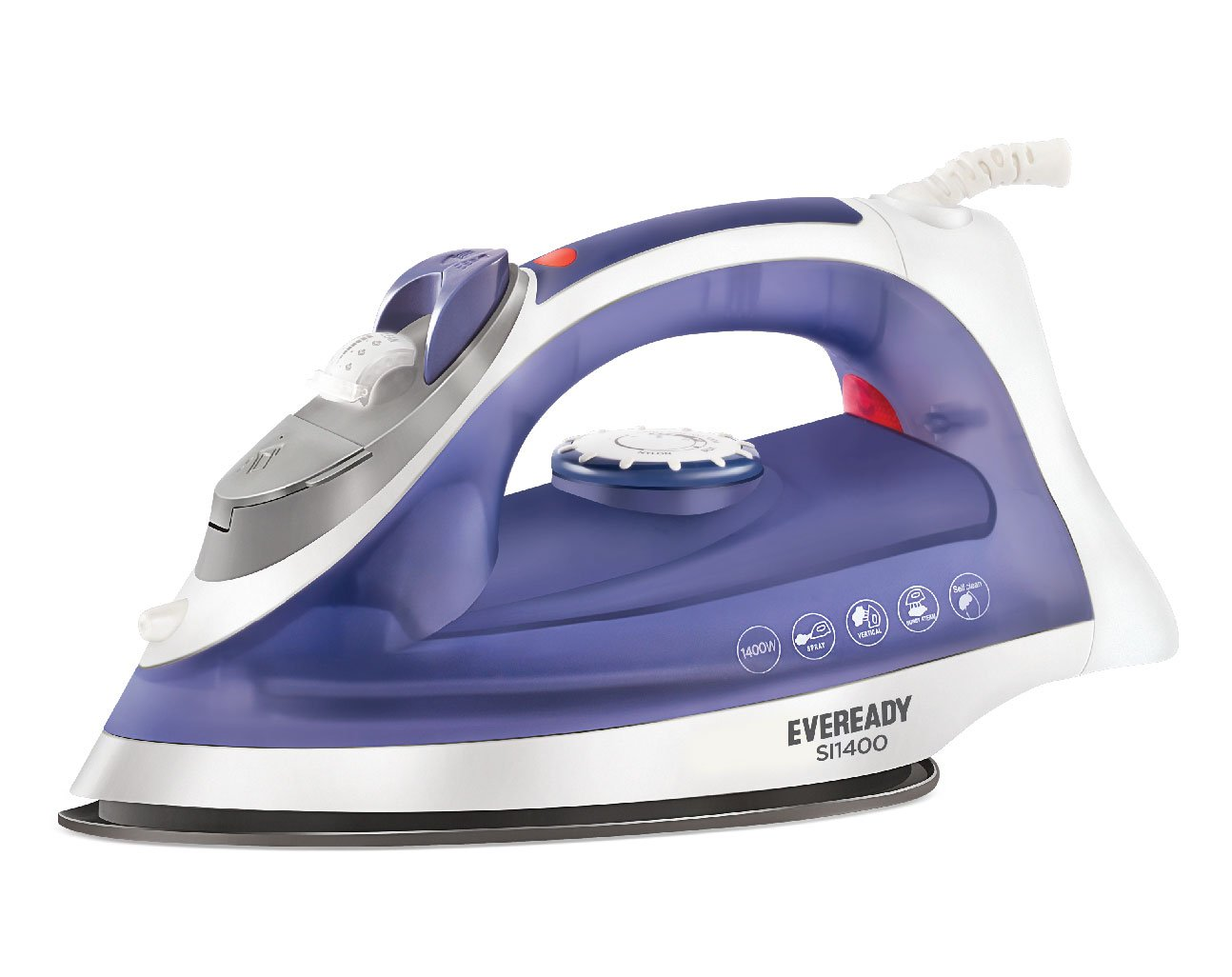 eveready steam iron