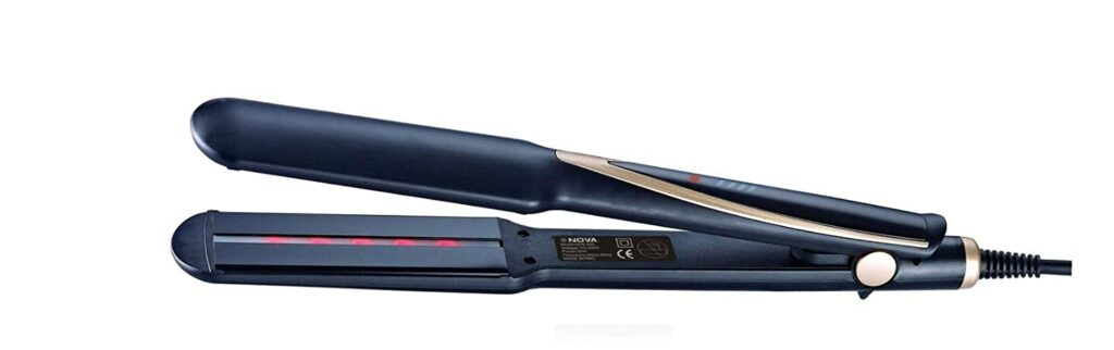 nova temperature control hair straightener