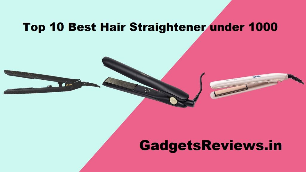 top 10 best hair straightener under 1000(1K), straightener, best straightener