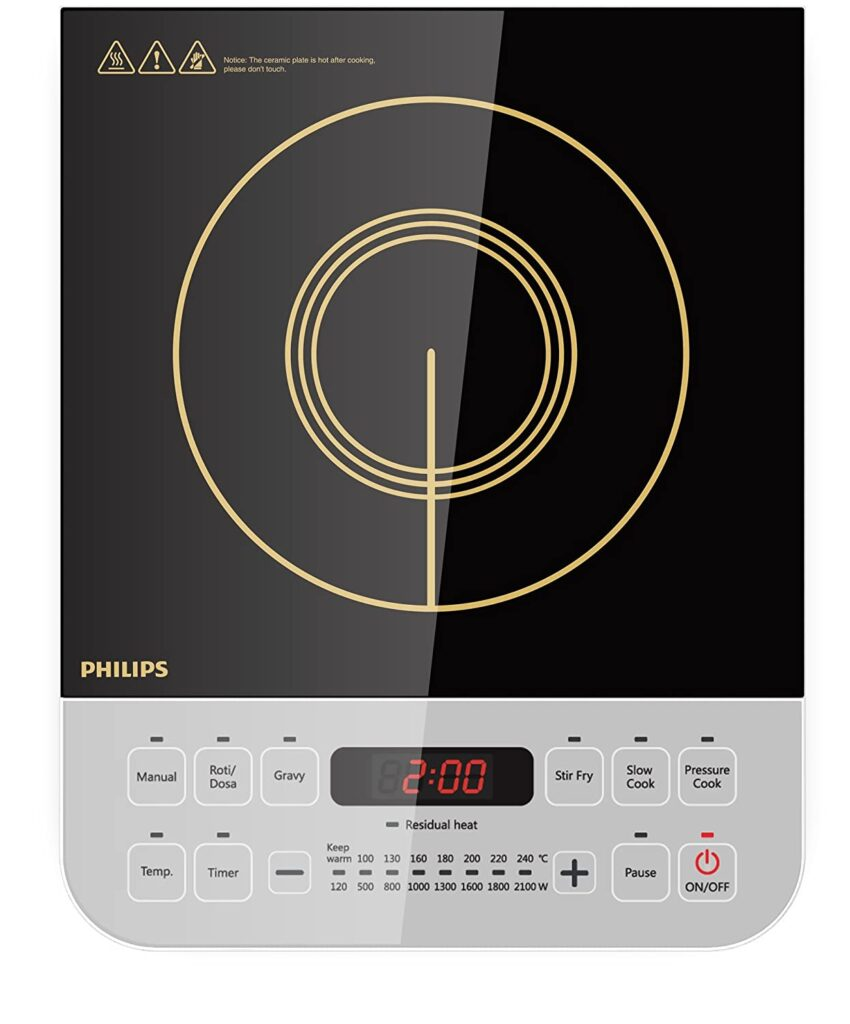 philips viva induction stove