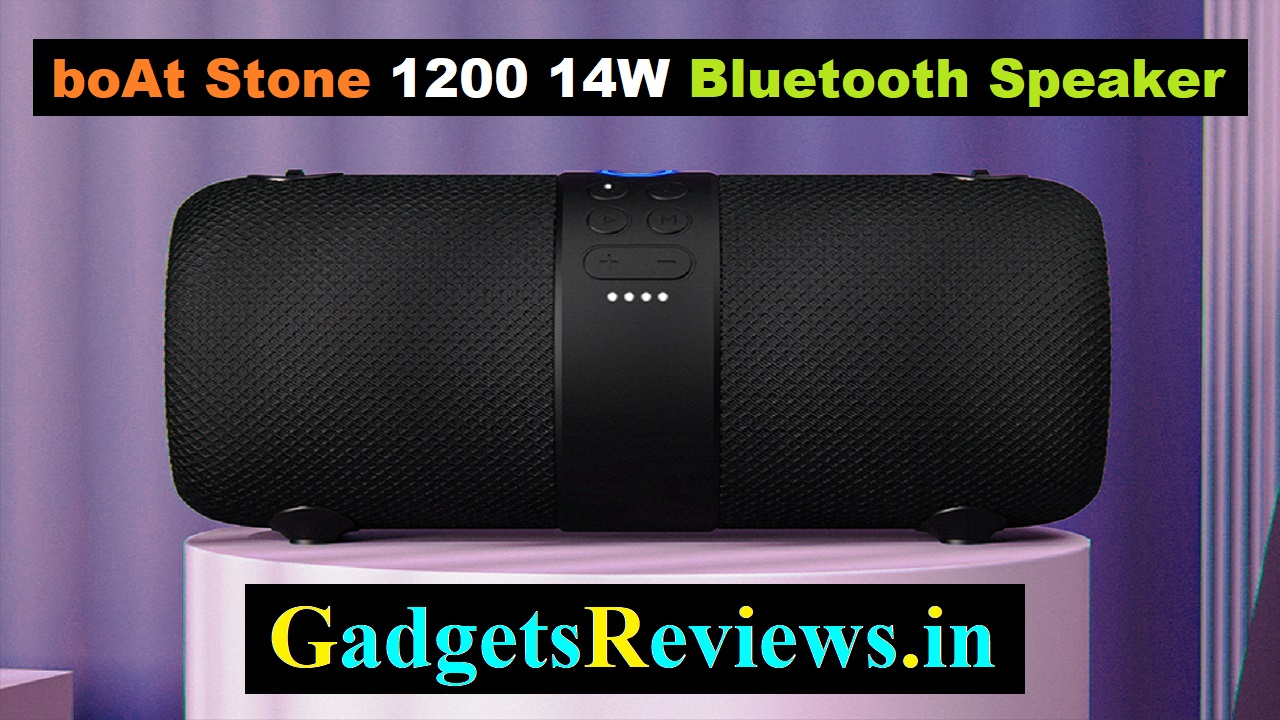 boat stone, boat stone 1200, bluetooth speaker, buy boat speakers, boat 1200 speaker in India, boAt Stone 1200 14W Bluetooth Speaker
