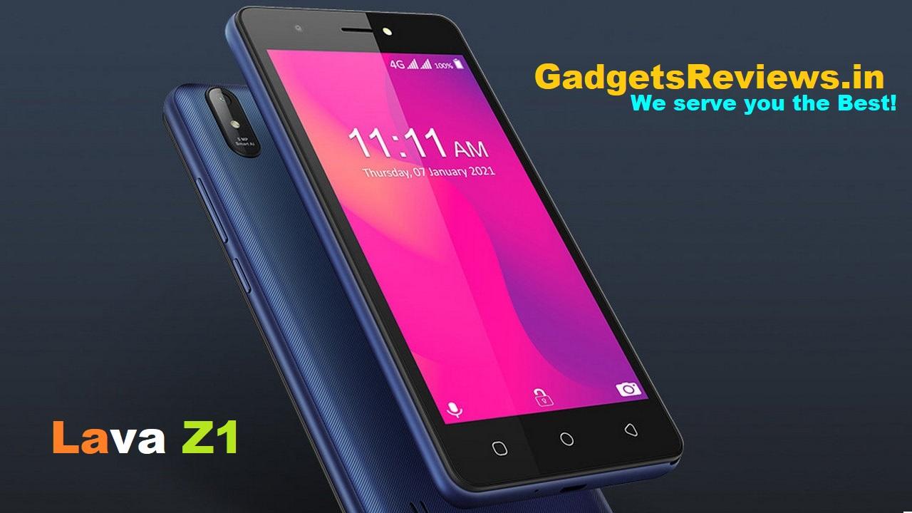 lava z1, lava z1 specification, lava z1 mobile phone, lava z1 launching date in India, lava z1 phone price