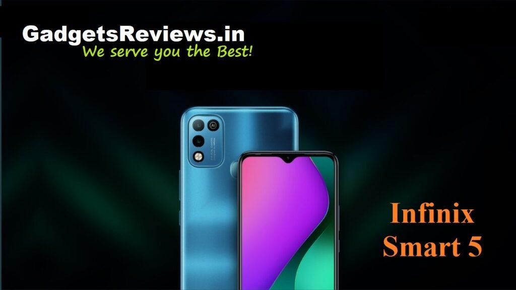 Infinix Smart 5, Infinix Smart 5 mobile phone, Infinix Smart 5 phone launching date in India, Infinix Smart 5 phone specifications, Infinix Smart 5 phone price, Infinix Smart 5 spects
