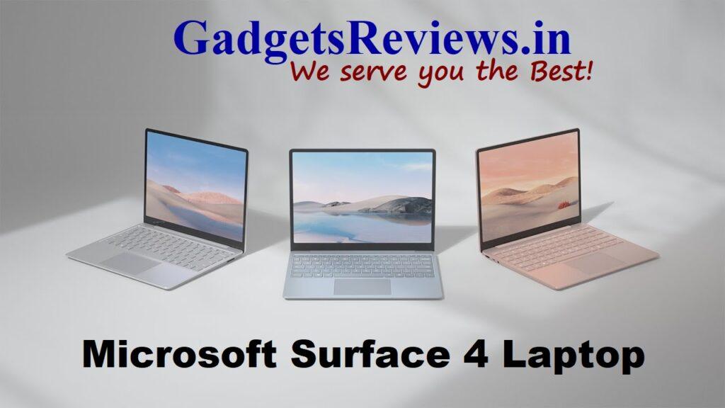 Surface Laptop 4, Microsoft Surface Laptop 4, touchscreen laptop, Surface 4 Laptop, microsoft laptop, buy surface 4 laptop, Surface Laptop 4 spects, Surface Laptop 4 features, Surface 4 laptop launch date, Surface Laptop 4 price in India, 13.5 inch Surface Laptop 4, 15 inch Surface Laptop 4